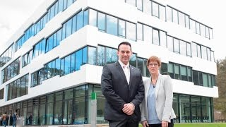 Feierliche Eröffnung des Kompetenzzentrums für IT-Sicherheit CISPA an der Universität des Saarlandes
