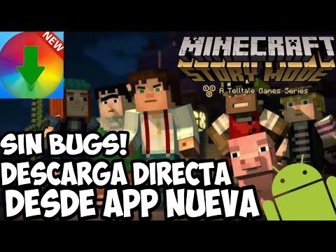 Como instalar minecraft story mode sin bugs!! descarga directa para cualquier android