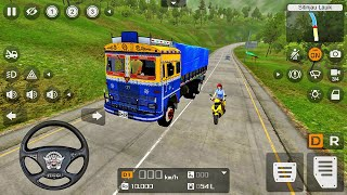Indian Tata National Permit Lorry Truck Driving - Bus Simulator Indonesia - Android Gameplay