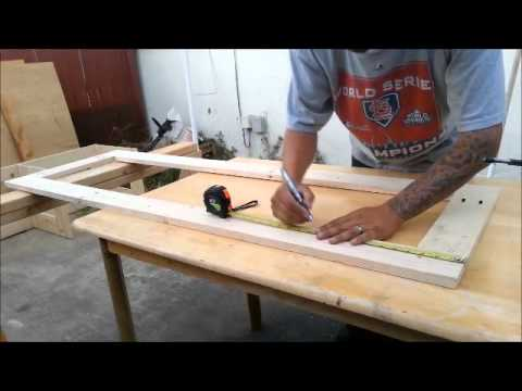 My Tablesaw station build (base) Part 1