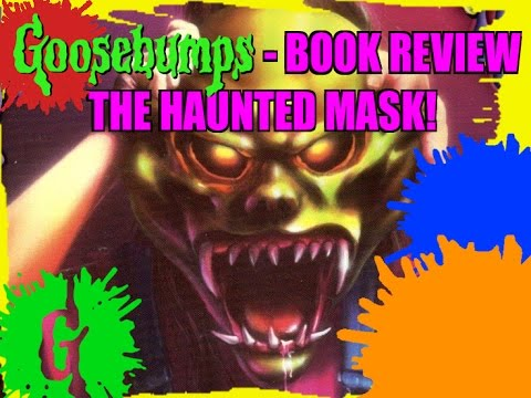Goosebumps Book Review  The Haunted Mask Youtube