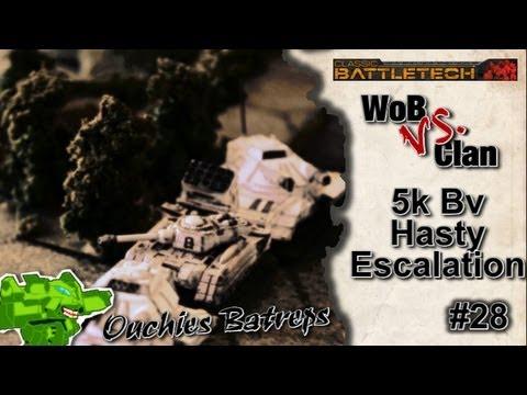 Ouchies Batrep: Battletech #28