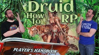 Druid - How to RP Classes in 5e Dungeons & Dragons - Web DM