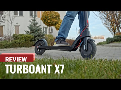 Turboant X7 electric scooter review