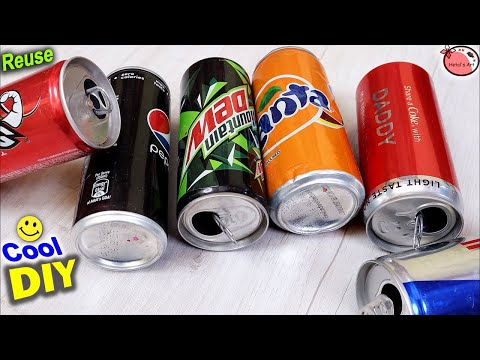 Best Out of Waste || Waste Material Craft Idea || DIY Recycled Tin Can Craft