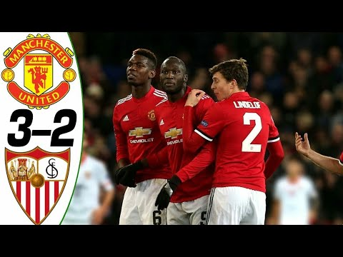 MANCHESTER UNITED VS SEVILLA  3-2 ● All goals and highlights ● Last 2 matches ● HD ●