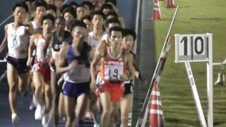 日体大記録会5000m33組 鈴木芽吹(佐久長聖1年)14:23.77/村澤明伸 2017.9.24