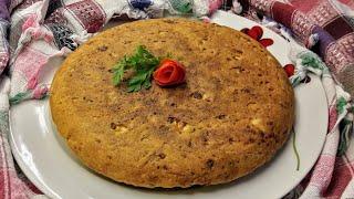 Tava çöreği tarifi - Hamur yoğurmadan yapılan tuzlu kek tadında peynirli çörek tarifi- Ev Lezzetleri