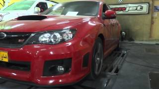 Tuned Subaru STI 2011 with Speed Density & Flat Foot Shift & Lunch Control & Auto Blip.