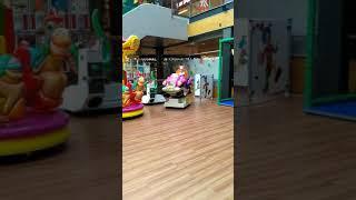 Бесплатные развлечения для детей в торговом центре г. Котка.