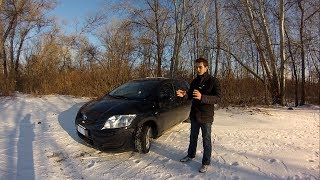 TOYOTA Auris Corolla Тест драйв от Коляныча #32 Б У Тойота Аурис, Королла
