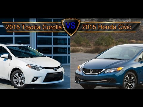 2015 Toyota Corolla Vs. Honda Civic: By The Numbers