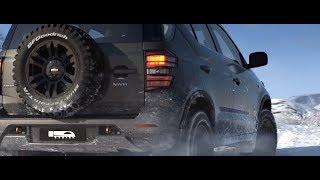 Динамическая визуализация концепт-кара Chevrolet NIVA Next Generation