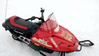 Снегоход детский, с дистанционным глушением двигателя.
