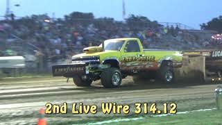 Lucas Oil Super Stock 4x4 Trucks-Moundsville, WV 7/26/18