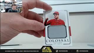 2017 Panini National Treasures Baseball Hobby Box Live Break - David