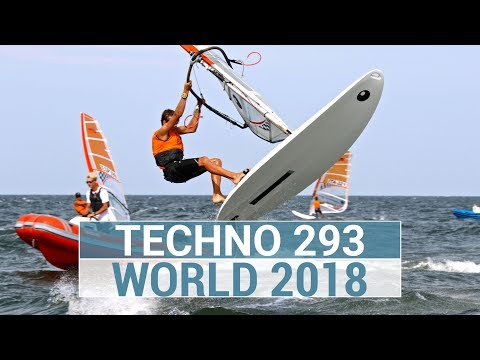 BIC Techno 293 and Techno 293 + WORLDS 2018 - Highlights