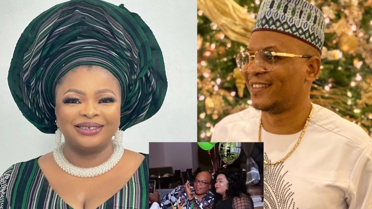 Download Dayo Amusa Gets Engaged And Flaunts Her Fiancé, Introduces Her Daughter & Many Hidden…