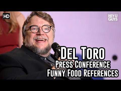 Guillermo del Toro Funny Food References  The Shape of Water