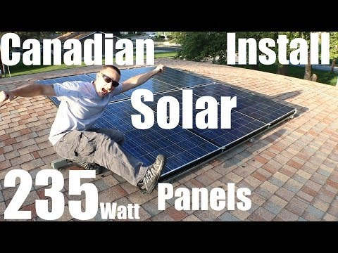 Installing Solar Panels On The Roof