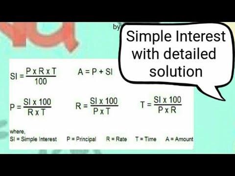 Simple Interest: Finding the interest per annum [MATH]
