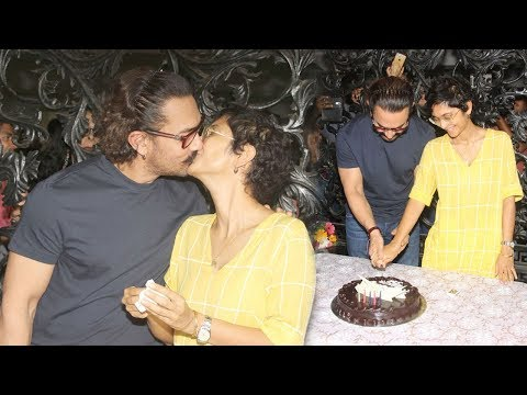 Aamir Khan's 53rd Birthday Party 2018 INSIDE Lavish House In Bandra Full Video HD