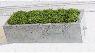 видео деревянные кашпо ящики для цветов - кашпо дерево - креативные кашпо для цветов из дерева