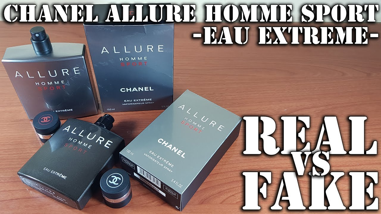 Fake fragrance - Allure homme Sport Extreme by Chanel - YouTube e8677c8592