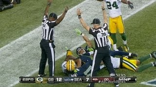 NFL: Bad Call by Fill-In Ref?