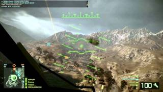 Bad Company 2 - UH-60 Attack Mode