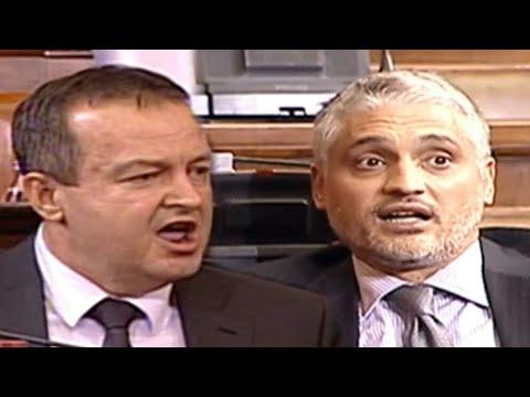 Žestoka svađa Ivice Dačića i Čedomira Jovanovića u skupštini | Lider SPS GRMEO NA JOVANOVIĆA