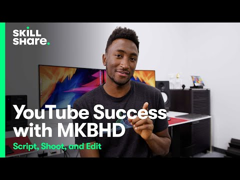 MKBHD Teaches How to Script, Shoot & Edit YouTube Videos