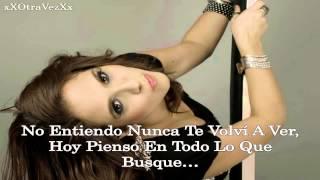 Sandra Muente - Te Esperare (Con Letra)
