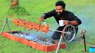 BARBEQUE CHICKEN | MY VILLAGE COOKING | M4 TECH |