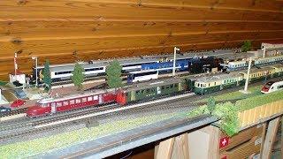 MÄRKLIN, HAG, LIMA, modelleisenbahn, automotrices suisses, flèche rouge, Bodensee, ..., Schweiz