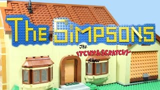 The Simpsons, Itchy and Scratchy show [LEGO Clip]