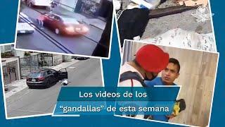 En video quedó registrado el momento en el que un hombre lanzó a su novia de su auto, esto luego de que ella recibiera un mensaje en su celular; por esta razón EL UNIVERSAL te presenta a los gandallas de esta semana