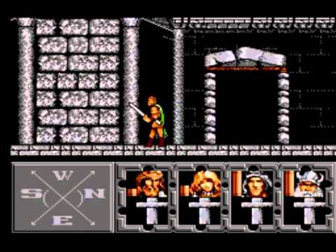 sega master system heroes of the lance youtube