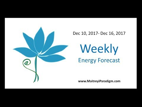 Conscious Living Weekly Energy Message for the week of December 10 thru December 16, 2017