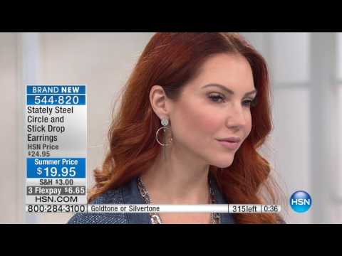 HSN | Stately Steel Jewelry 06.08.2017 - 01 PM