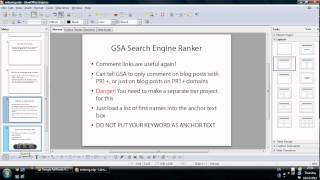 How to Index Backlinks Fast With GSA