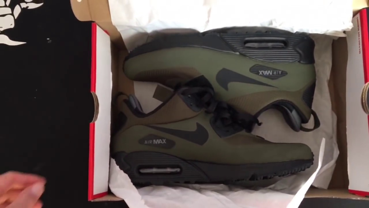 Nike Air Max 90 Mid Winter (Schwarz)