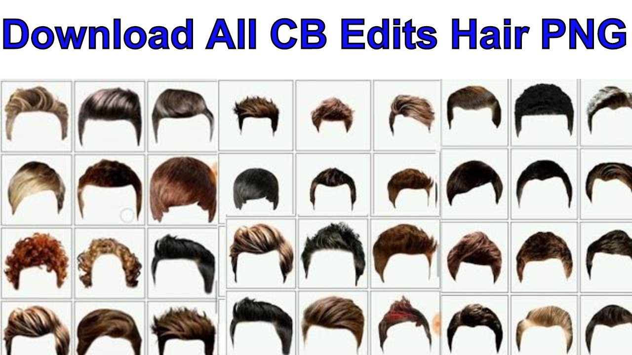 100 Man Hair Png Download Now Cb Edits Hair Png How To Download