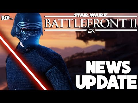 NEWS UPDATE! Big Kylo Ren Nerf, Wookiee Officers and More! Star Wars Battlefront 2 thumbnail
