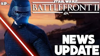 NEWS UPDATE! Big Kylo Ren Nerf, Wookiee Officers and More! Star Wars Battlefront 2