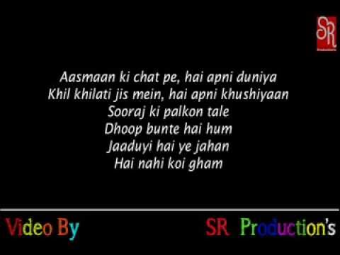 Bande Hain Hum Uske Lyrics Dhoom 3 POEM