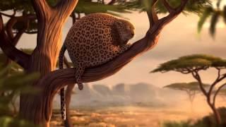 дикие животные и дикий фаст фуд африка