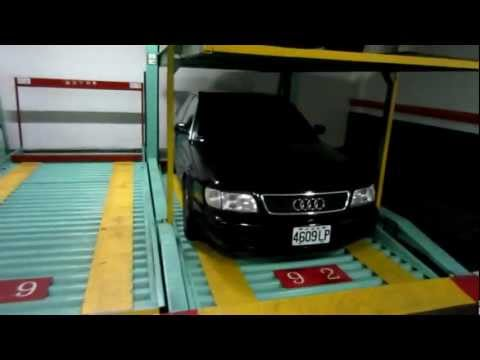 Taiwan Underground Parking Garage