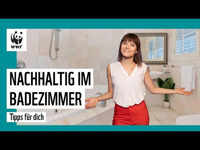 Sind Tampons umweltschädlich? So geht öko im Badezimmer   Die besten Tipps   WWF Deutschland