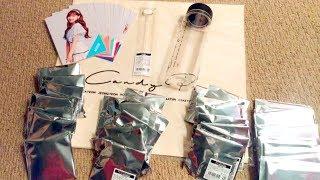 TWICE トゥワイス Candy Pop Cafe Merchandise Haul + Unboxing